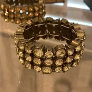 J Crew crystal bracelet